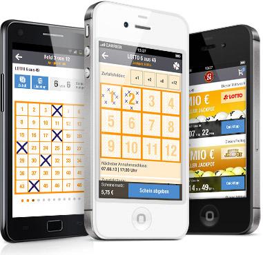 Die Lotto24 App