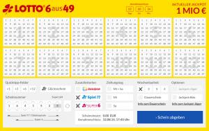 Der interaktive Spielschein bei Lotto24