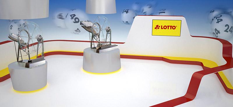 Lotto-Ziehungsstudio in Saarbrücken